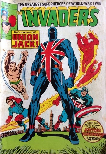 Union Jack!—The Invaders (Yaffa/Page, 1978 series) #3  ([July 1979?])