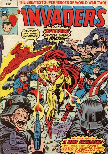 A New Invader!—The Invaders (Yaffa/Page, 1978 series) #4  ([October 1979?])