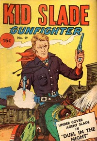 Kid Slade Gunfighter (Yaffa/Page, 1969? series) #29 — Untitled (Cover)