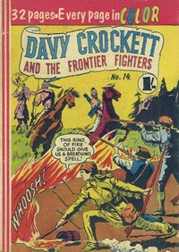 Davy Crockett and the Frontier Fighters (Colour Comics, 1955 series) #14 ([1956?])