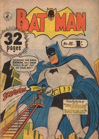 Batman (Colour Comics, 1950 series) #88 — The Giant Batman!