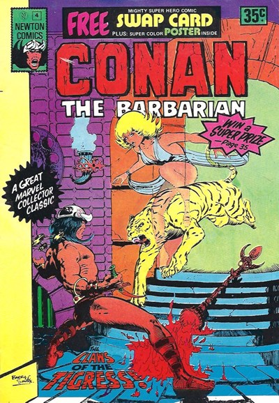 Conan The Barbarian (Newton, 1975 series) #4 ([August 1975?])