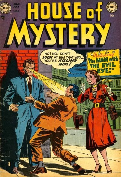 House of Mystery (DC, 1951 series) #4 (June-July 1952)