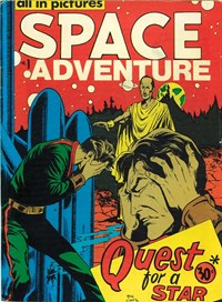 Space Adventure (Yaffa/Page, 1975? series) #1 — Quest for a Star (Cover)