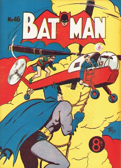 Batman (Colour Comics, 1950 series) #46 ([March 1954])