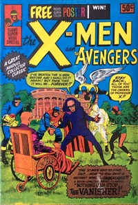 The X-Men with the Avengers (Newton, 1975 series) #2 (November 1975)