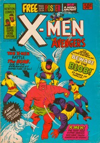 The X-Men with the Avengers (Newton, 1975 series) #3 (December 1975)
