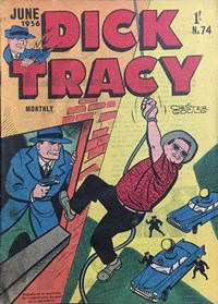 Dick Tracy Monthly (Illustrated, 1952 series) #74
