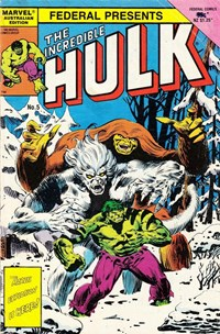 The Incredible Hulk (Federal, 1984 series) #5 — No title recorded