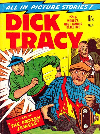 Dick Tracy (Magman, 1958? series) #4 ([1958?])