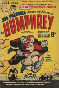 Joe Palooka Presents the Funsational Humphrey Monthly (Red Circle, 1952 series) #11
