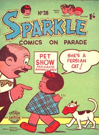 Sparkle Comics on Parade (New Century, 1955? series) #28 — Untitled (Cover)
