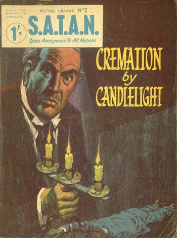 Cremation by Candlelight (Cover)