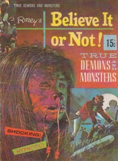 Ripley's Believe It or Not! True Demons and Monsters (Magman, 1974) #2405 ? (1974)