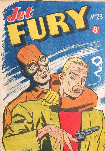Jet Fury (Pyramid, 1951 series) #23 ([November 1951?])