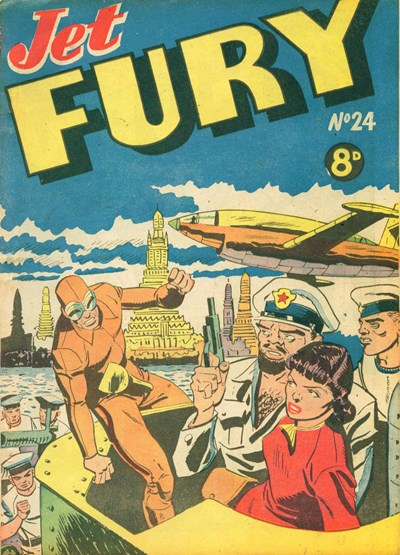 Jet Fury (Pyramid, 1951 series) #24 ([1951?])
