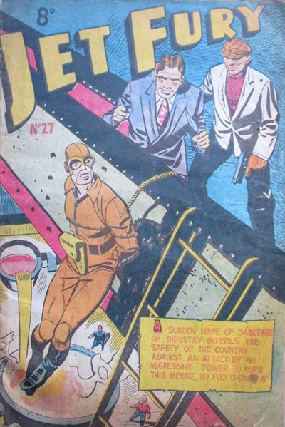 Jet Fury (Pyramid, 1951 series) #27 ([1952?])
