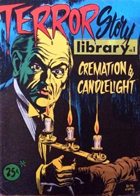Terror Story Library (Yaffa/Page, 1975? series) #1 — Cremation by Candlelight (Cover)