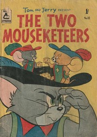 Tom and Jerry Present the Two Mouseketeers (Rosnock, 1955 series) #22