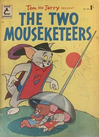 Tom and Jerry Present the Two Mouseketeers (Rosnock, 1955 series) #23