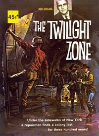 The Twilight Zone (Rosnock, 1982) #R1245 — Untitled (Cover)