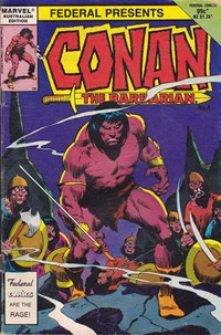 Conan the Barbarian (Federal, 1984 series) #4 — Untitled