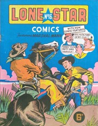 Lone Star Comics (Young's, 1949? series) #16 — Untitled (Cover)