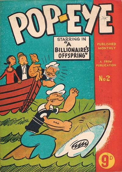 Pop-Eye (Frew, 1956? series) #2 ([February 1956?])