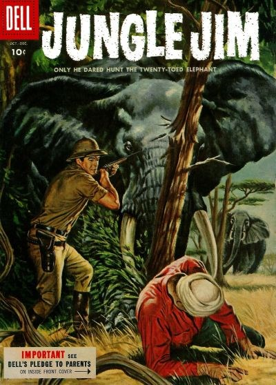 Jungle Jim (Dell, 1954 series) #6 (October-December 1955)
