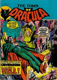 The Tomb of Dracula (Yaffa, 1978 series) #7 — Snowbound in Hell! (Cover)