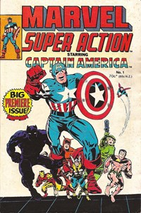 Page 1—Marvel Super Action (Yaffa/Page, 1977 series) #1  ([March 1977?])