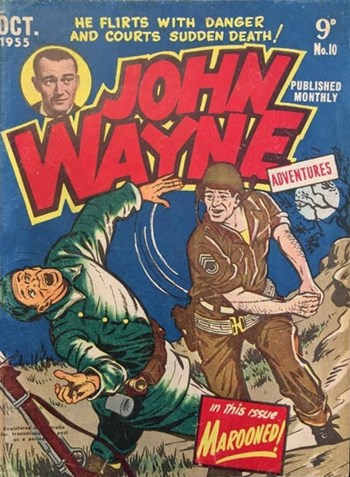 John Wayne Adventures (Red Circle, 1955 series) #10 (October 1955)