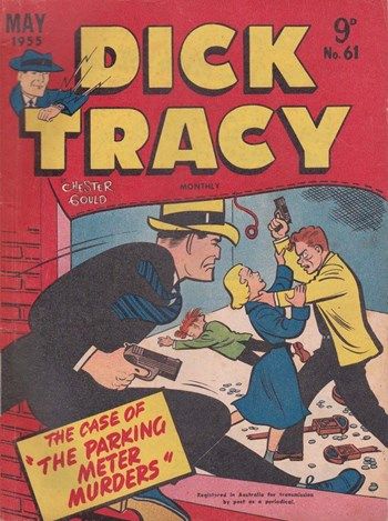 Dick Tracy Monthly (Illustrated, 1952 series) #61 (May 1955)