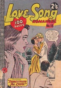 Love Song Romances (Colour Comics, 1959 series) #18 ([November 1961?])
