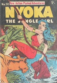 Nyoka the Jungle Girl (Cleland, 1949 series) #50