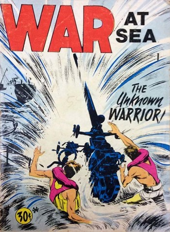The Unknown Warrior!—War at Sea (Yaffa/Page, 1975? series) #1  ([1975?])