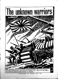 War at Sea (Yaffa/Page, 1975? series) #1 — The Unknown Warriors (page 1)