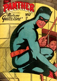 The Panther (Young's, 1957 series) #67 — Madame Guillotine (Cover)