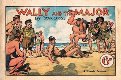 Wally and the Major [Herald] (Herald and Weekly Times, 1942? series) #4 (December 1945)
