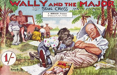 Wally and the Major [Herald] (Herald and Weekly Times, 1942? series) #10 (1951)