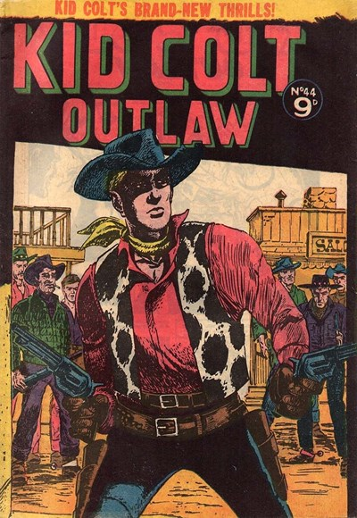 Kid Colt Outlaw (Transport, 1952 series) #44 ([September 1955])