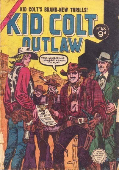 Kid Colt Outlaw (Horwitz, 1955? series) #48 ([September 1955?])
