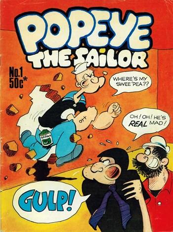 Popeye the Sailor (Gredown, 1978 series) #1  ([1978?])