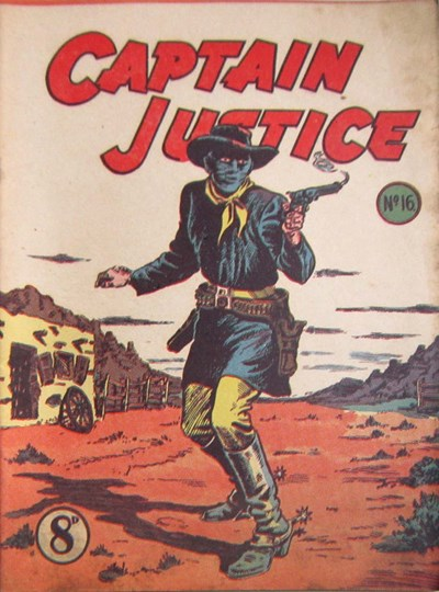 Captain Justice (New Century, 1950 series) #16 ([March 1952?])