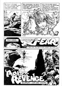 Savage Tales (Murray, 1982 series) #1 — Pirate's Revenge (page 1)