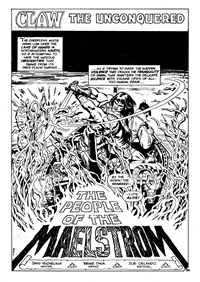 Savage Tales (Murray, 1982 series) #1 — The People of the Maelstrom (page 1)