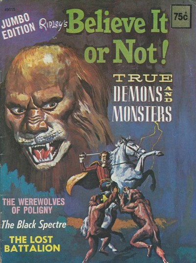 Ripley's Believe It or Not! True Demons and Monsters Jumbo Edition (Magman, 1979) #49015 ([1979])
