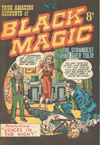 True Amazing Accounts of Black Magic (Youngs, 195-? series) #2