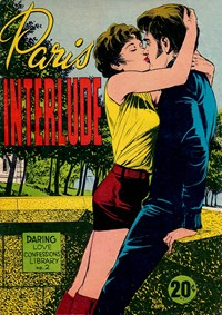 Daring Love Confessions Library (Yaffa, 1975? series) #2 ([1975?]) —Paris Interlude