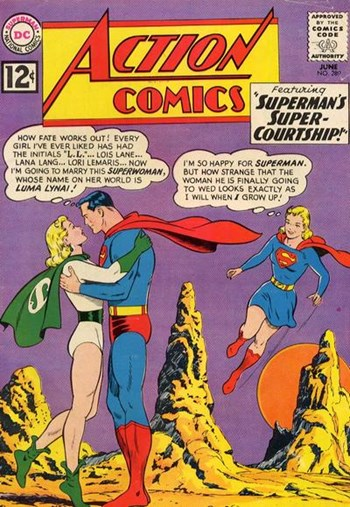 Superman's Super-Courtship